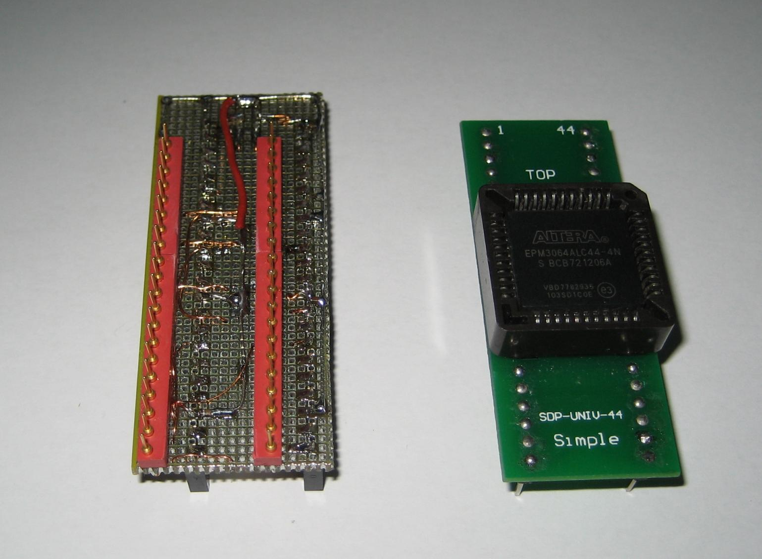 Hilosystems Hi Lo All 07 Parallel Port Universal Device Programmer Atx Power Supply Wiring Diagram This Adapter Is Necessary To Program Cplds With Locked Jtag Pins So Not A Simple Isp Schematic Contains Pinout For Available Packages