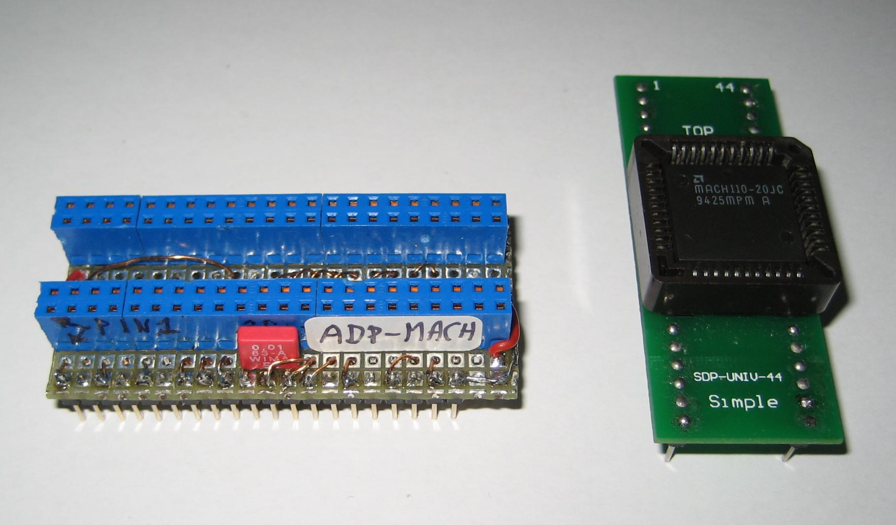 Universal Programmer All 11p2 Hilosystems Eprom Burner Card Circuit Diagram Hilo Adp Mach For Plcc 44 Devices