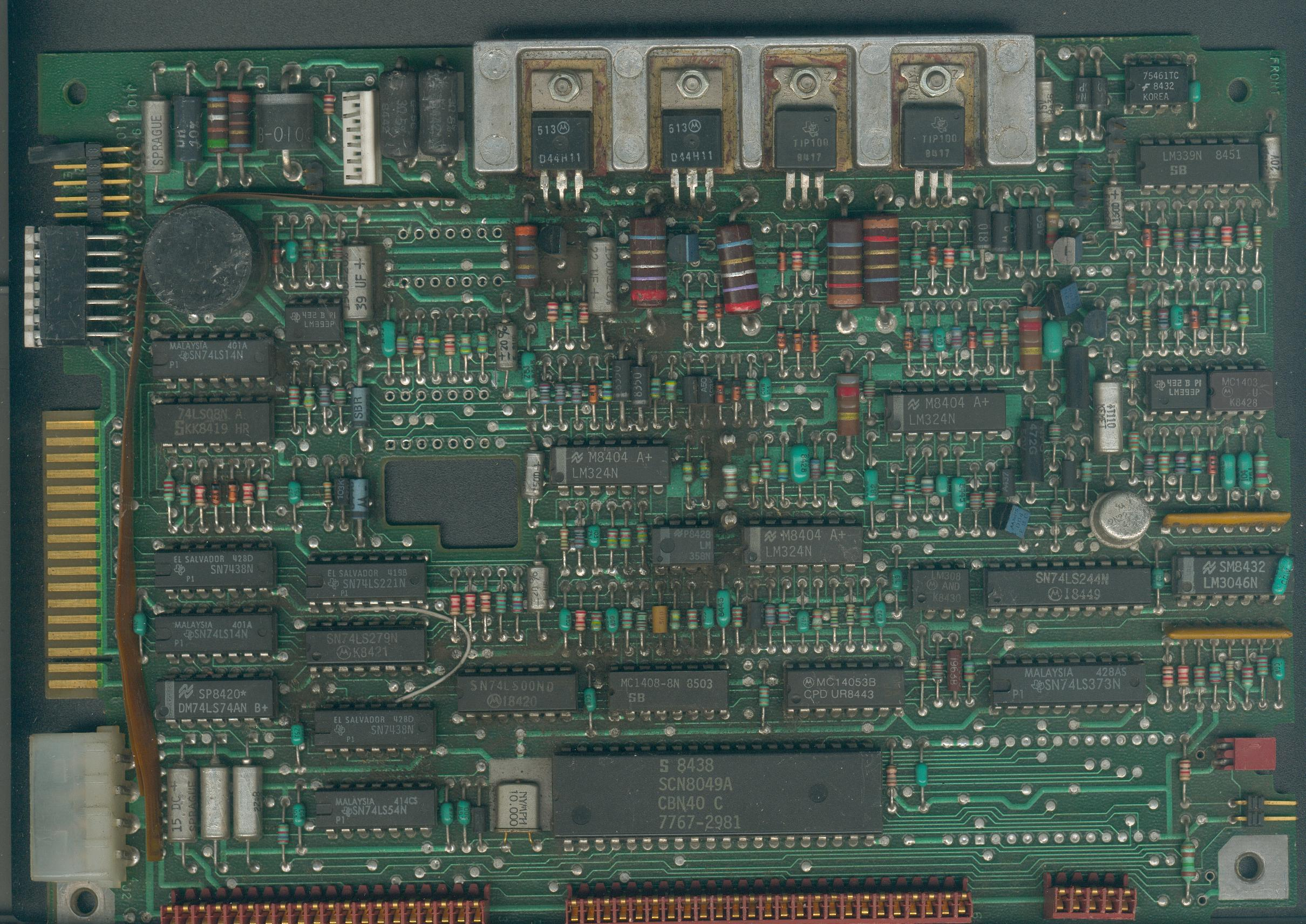 Hard Disk Interface Cards The Lm324 Quad Comparator Circuit Images Frompo