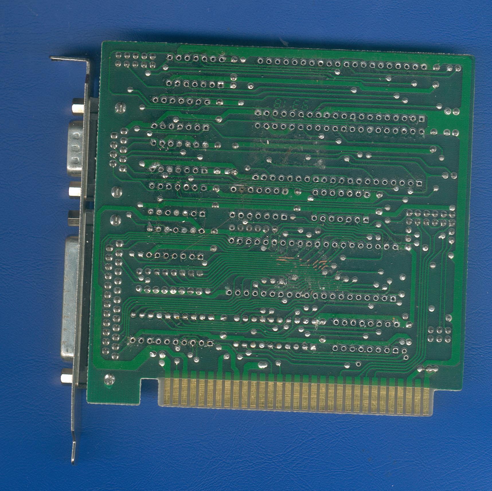 Donatec At Parallel Serial Isa Card Ft 8608030 V41 Logic Diagram